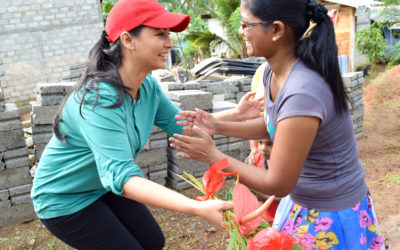 Pooja Umashankar Joins Habitat for Humanity to Empower Women through the 'BuildHerUp' Campaign