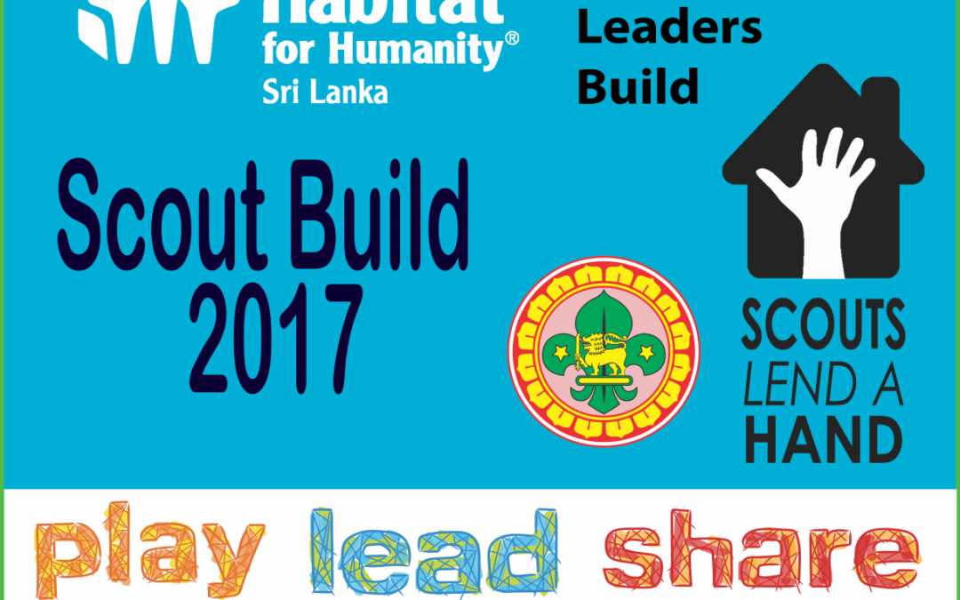 Habitat for Humanity's 'Scout Build' to Empower Young Leaders in Sri Lanka