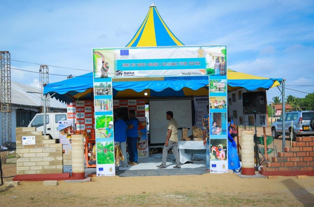 """Homes not Houses"" project funded by the European Union at the Batticaloa International Trade Exhibition (BITE)"