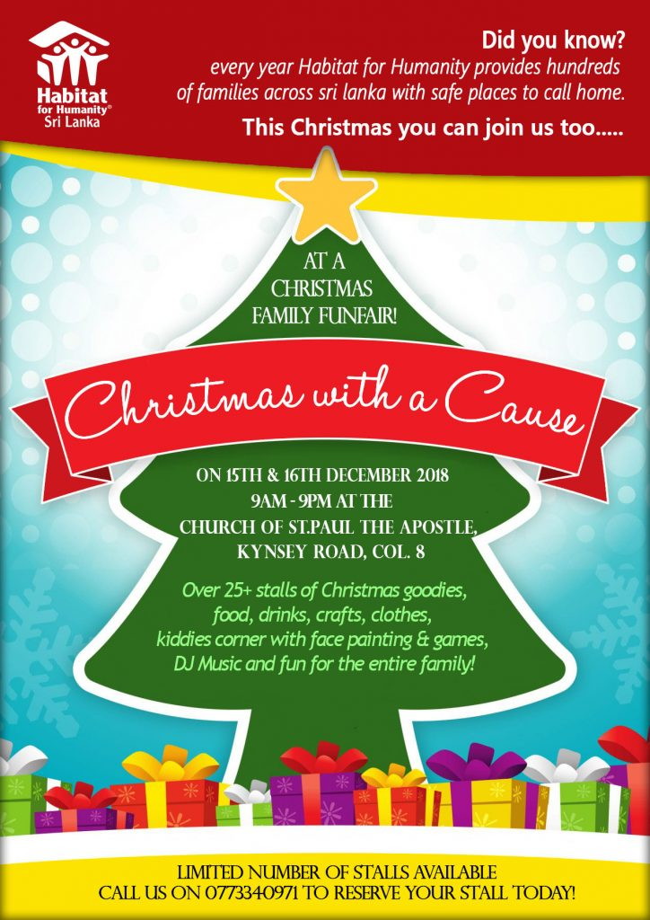Christmas with a Cause-Poster